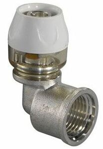 """uponor rtm knie buitendraad 16mmx1/2"""" 90°"""
