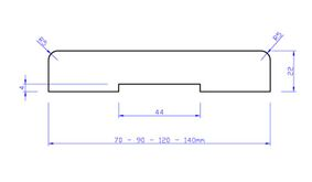 beuken stofdorpel sd1 23x90x950