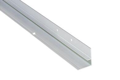 Fibo-Trespo Binnenhoek verdekt Aluminium 2360mm