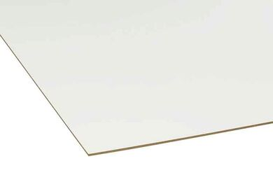 ROCKPANEL UNI Gevelplaat RAL 9010 Zuiver Wit 2500x1200x6mm
