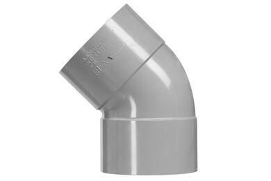 MARTENS PVC Bocht 2x Lijmmof 45° 75mm