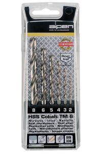 alpen hss-cobalt forte set t/m6mm 6-delig