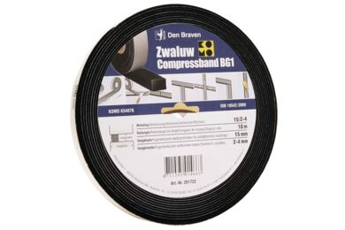 ZWALUW Voegenband Compress Bg1 20/4 8m