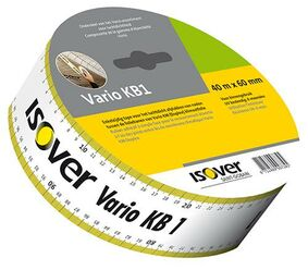 isover tape vario system kb1 tape 60mm rol 40m