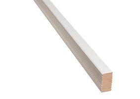 agnes one step plafondlijst linnen wit 70%pefc 8x44x2600