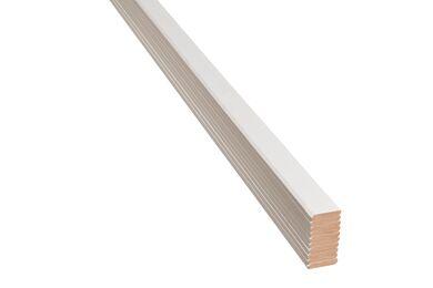 AGNES One-step Plafondlijst 12TF Wit Linnen MDF PEFC 8x44x2600mm