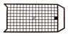 verfrooster kunststof klein 110x236mm