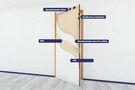 PICO 6069 Binnendeur Vbw + Gnd-I 201,5x88cm 40mm 60 Minuten Brandvertragend