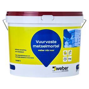 weber.mix vuurvaste mortel emmer 12kg