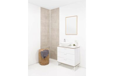 Fibo-Trespo Wandpaneel  M63 2094 S White 3020x620x11mm