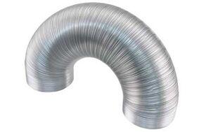 afvoerslang aluminium 1500mm flexibel