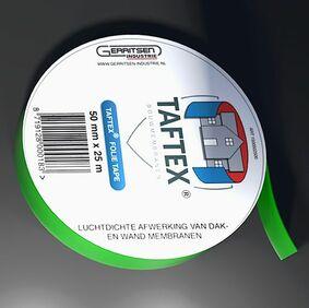 gi taftex folie tape transparant 50mm 25m