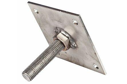 hoogteverstelling m16 voor betonpoeren
