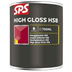 sps hoogglans lak hsb 5004 donkerblauw 750ml