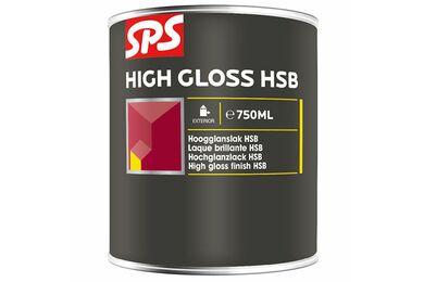 SPS HSB Lakverf Hoogglans 6009 Donkergroen 750ml