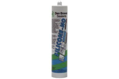 DEN BRAVEN Silicone-NO + Sanitary Zwart 310ml