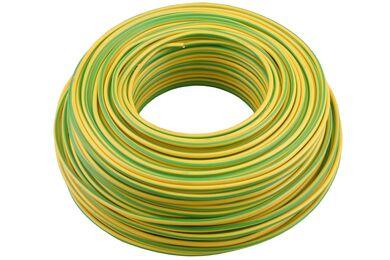 Installatiedraad Geel/Groen 2,5mm 20m