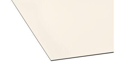 TRESPA Izeon Satin RAL 9001 Cremewit Enkelzijdig 2130x1420x6mm