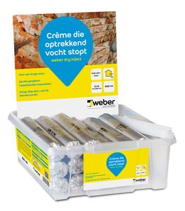 weber.dry inject aquablock injectiecream 600ml