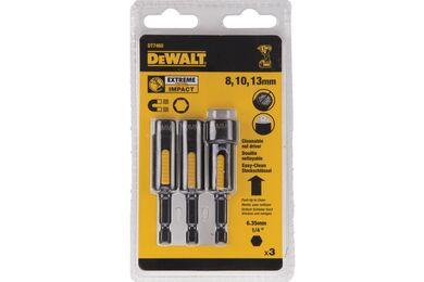 DEWALT DT7460-QZ Impact Zeskantdop Magnetisch En Reinigbaar 8mm 10mm 13mm