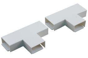 attema p25 t-stuk met plaatje polarwit (set van 2 stuks)