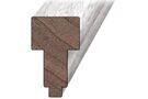 Hardhout Kozijnprofiel Middenstijl B 66x110x4000mm