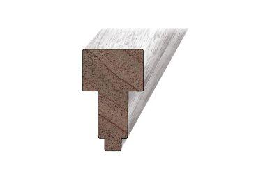 Kozijnprofiel Hardhout Middenstijl B 66x110x4300mm
