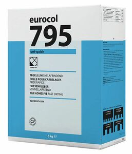 eurocol uni-quick 795 poedertegellijm