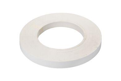 Meubelpaneel Wit 1 L. Zijde ABS 2mm 18mm 305x50cm 70% PEFC