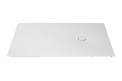 Krion Solid Surface Douchebak P805 Snow White 1300x1100x48mm