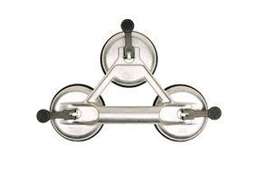 glasdrager aluminium 3-naps impregneer laag