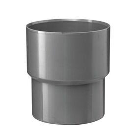 hwa verloopstuk 75x80mm grijs