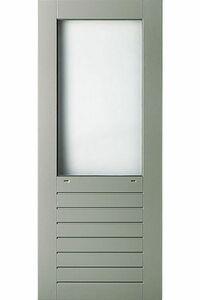 weekamp balkondeur hardhout of brede stijl wk048 bw874 grijs +isoglaslatten 930x2115
