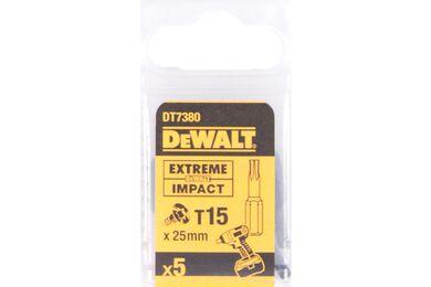 DEWALT DT7380T-QZ Impact Torsion 25mm Torx T15