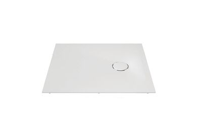 Krion Solid Surface Douchebak P801 Snow White 900x800x48mm
