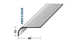 trapkant aluminium sdb40 3000mm
