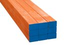 Stockholm Vuren Metselprofiel Oranje 6-laags FSC 66x90x2650mm