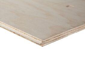 underlayment radiata floor 7-laags cp/c tong en groef 2440x1220x18