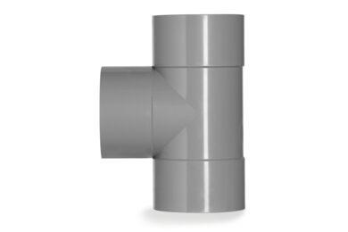 MARTENS PVC T-stuk 3x Lijmmof 90° 32mm