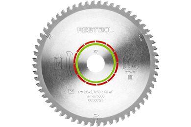 FESTOOL Speciaal Zaagblad 216x2,3x30 WZ/FA60