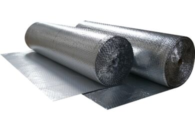 AIRTEC Double Bubble Isolerende folie LDPE Dampdicht Aluminium 1200mm Rol a 25m