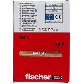 fischer chemisch anker rm8 (set van 10 stuks)