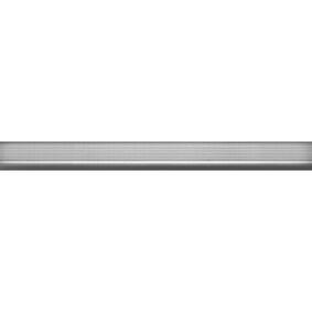 traplijst aluminium 6x25mm 200cm