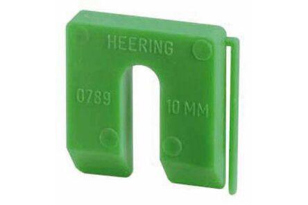 uitvulplaatjes 10mm groen dispenser a 40st