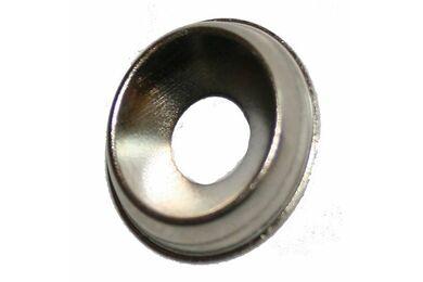 Kraalring Vernikkeld Messing 4x13mm