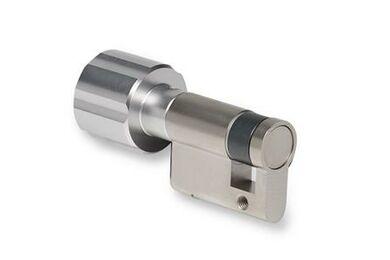 BUVA KnopCilinder Enkel 2002/6 Zilverkleurig 30/10mm SKG2