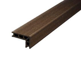 upm profi deck 150 hoekafwerking/traptrede Chestnut Brown 68x110x4000