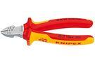 KNIPEX VDE Afstrip Zijsnijtang VDE 160mm