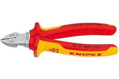 KNIPEX Afstrip-/zijsnijtang VDE 14-26-160 160mm
