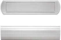 SKANTRAE All-In Brievenbuspakket Ovaal Aluminium